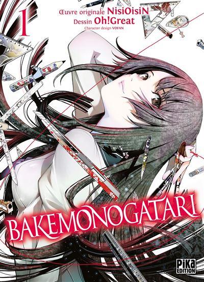 Couverture Bakemonogatari, tome 1