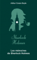 Couverture Les Mémoires de Sherlock Holmes / Souvenirs de Sherlock Holmes / Souvenirs sur Sherlock Holmes Editions Archipoche 2019