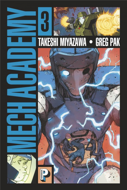 Couverture Mech Academy, tome 3