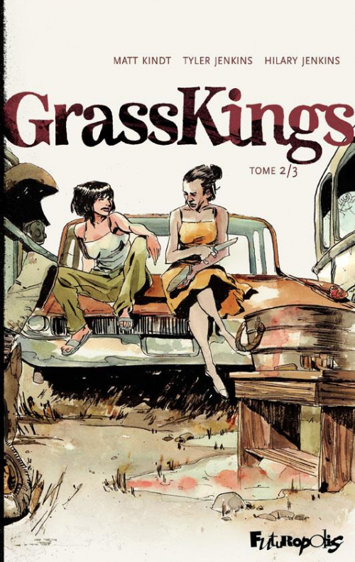 Couverture GrassKings, tome 2