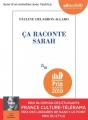 Couverture Ça raconte Sarah Editions Audiolib 2019