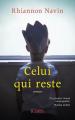 Couverture Celui qui reste Editions JC Lattès 2019