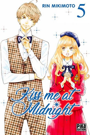 Couverture Kiss me at midnight, tome 05