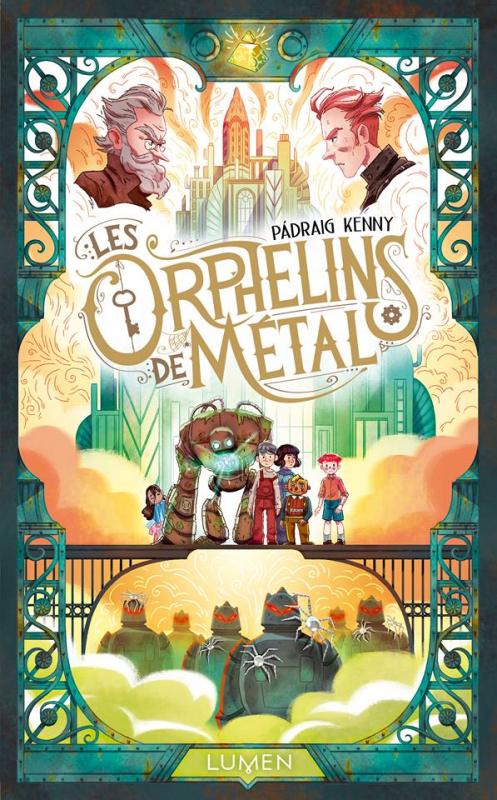 Couverture Les orphelins de métal