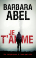 Couverture Je t'aime Editions France Loisirs (Thriller) 2019