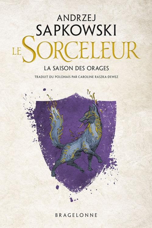 Couverture Sorceleur, tome 0.5 : La Saison des Orages