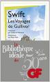 Couverture Les voyages de Gulliver Editions Flammarion (GF) 2014