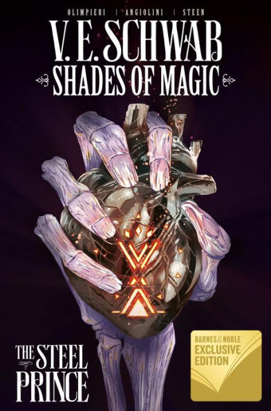 Couverture Shades of Magic: The Steel Prince, omnibus, book 1