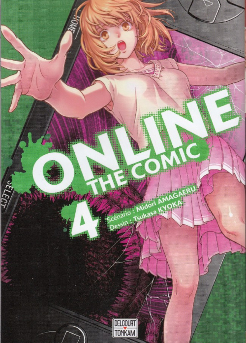 Couverture Online - The comic, tome 4