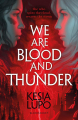 Couverture We Are Blood And Thunder Editions Bloomsbury 2019