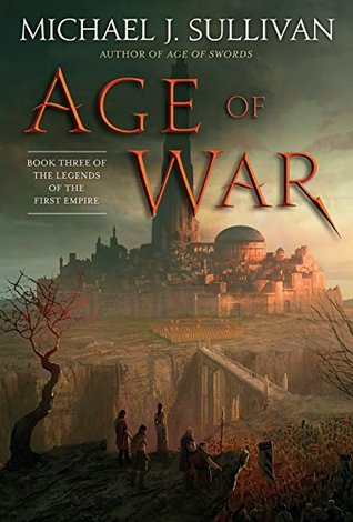 Couverture The Legends of the First Empire, book 3: Age of War