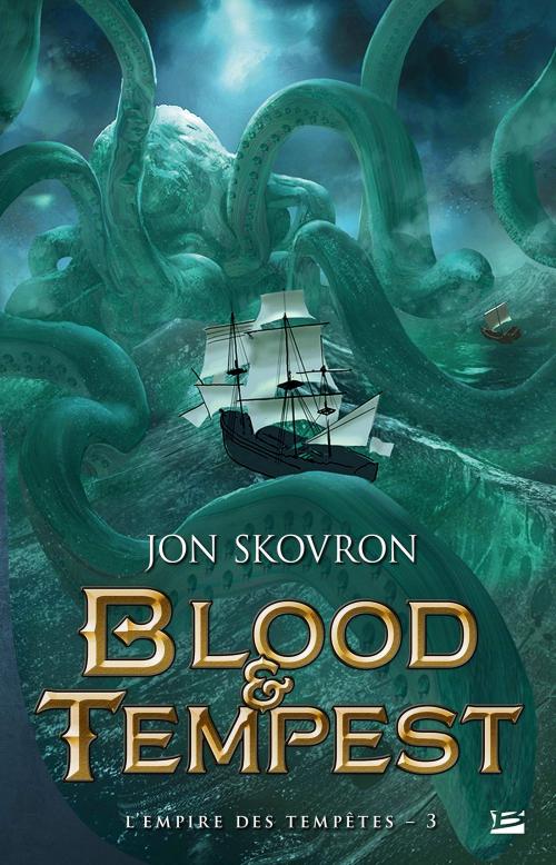 Couverture L'Empire des tempêtes, tome 3 : Blood & Tempest