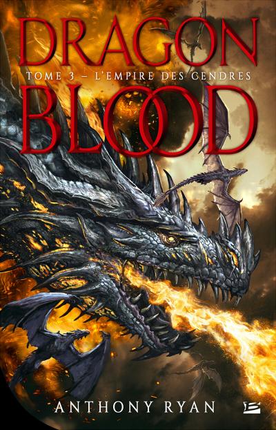 Couverture Dragon Blood, tome 3 : L'empire des cendres