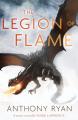 Couverture Dragon Blood, tome 2 : La légion des flammes Editions Orbit Books 2017