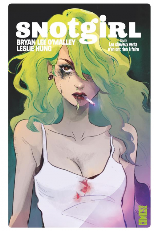Couverture Snotgirl, tome 1
