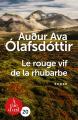 Couverture Le rouge vif de la rhubarbe Editions A vue d'oeil (20) 2017