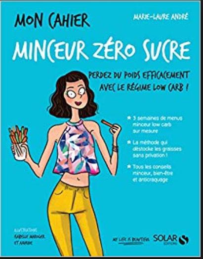 Couverture Mon cahier : Minceur zéro sucre