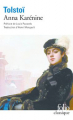 Couverture Anna Karénine Editions Folio  (Classique) 2018