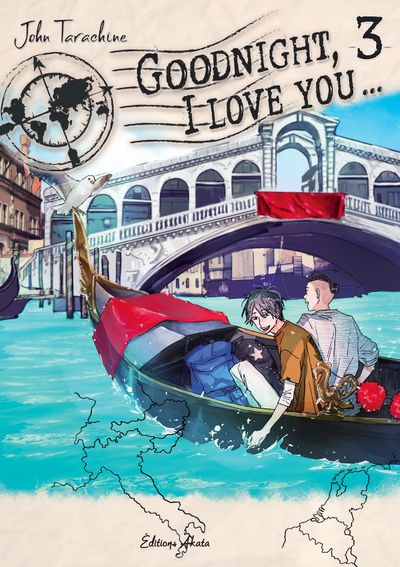 Couverture Goodnight, I love you..., tome 3