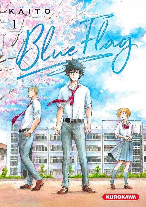 Couverture Blue flag, tome 1