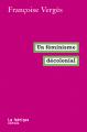Couverture Un féminisme décolonial Editions La Fabrique 2019