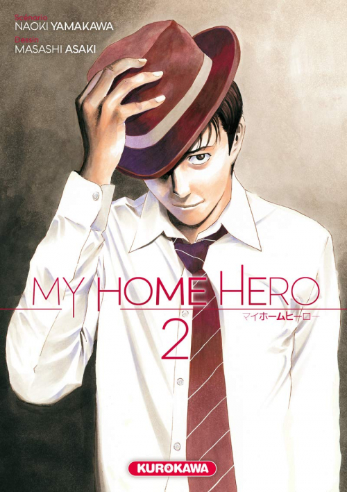 Couverture My Home Hero, tome 2
