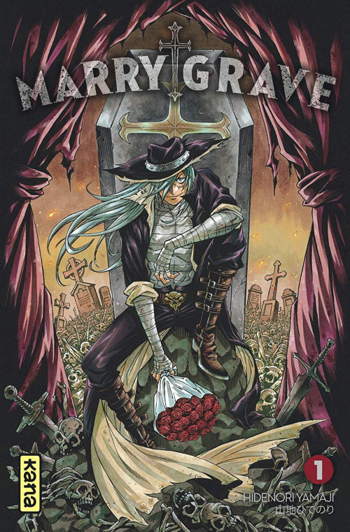 Couverture Marry Grave, tome 1