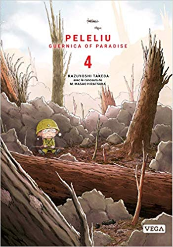 Couverture Peleliu : Guernica of Paradise, tome 4