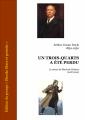 Couverture Un Trois-quarts a été perdu Editions Ebooks libres et gratuits 2014