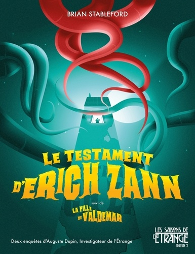 Couverture Le testament d'Erich Zann suivi de La fille de Valdemar