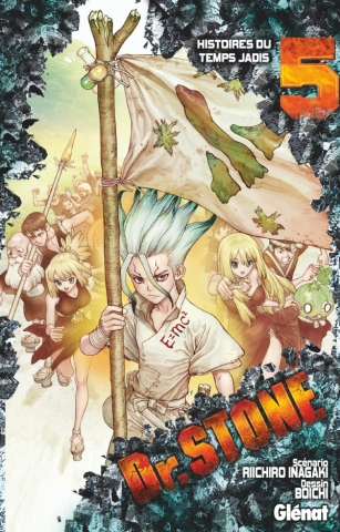Couverture Dr. Stone, tome 05