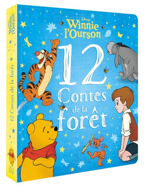 Couverture 12 contes de la Forêt