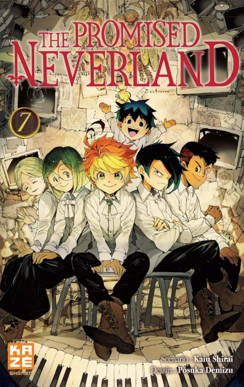 Couverture The Promised Neverland, tome 07