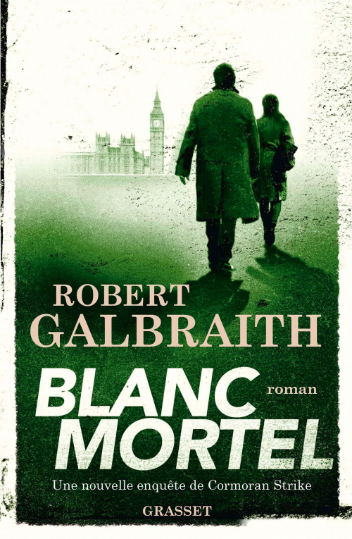 Couverture Cormoran Strike, tome 4 : Blanc mortel