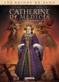 Couverture Les reines de sang : Catherine de Médicis : La reine maudite, tome 2 Editions Delcourt (Long métrage) 2019