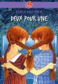 Couverture Deux pour une Editions Le Livre de Poche (Jeunesse) 2011