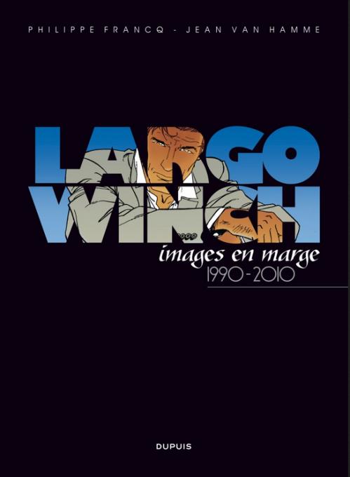 Couverture Largo Winch, images en marge