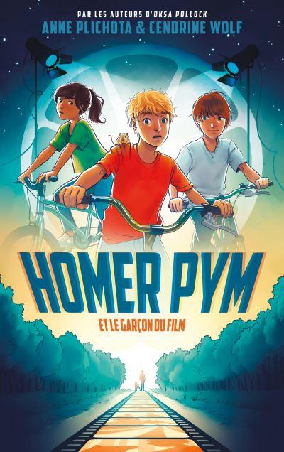 Couverture Homer Pym, tome 1: Homer Pym et le garçon du film