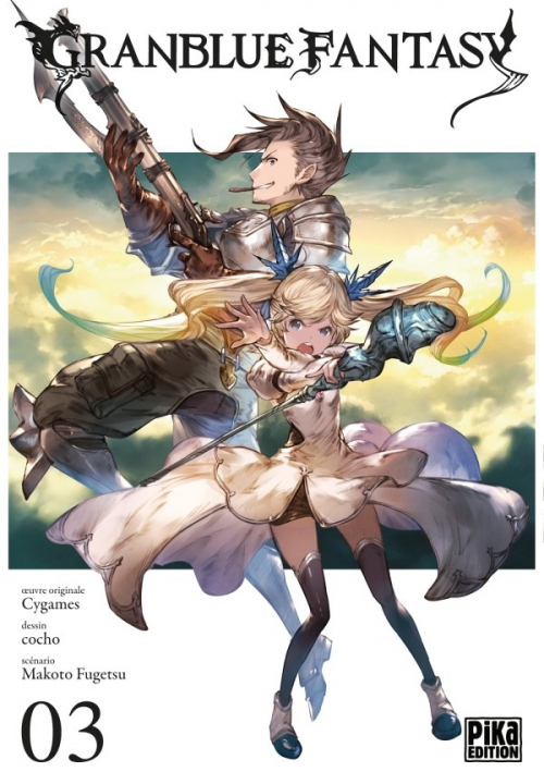 Couverture Granblue Fantasy, tome 3