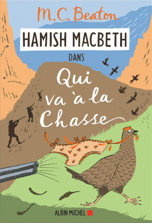 Couverture Hamish Macbeth, tome 2 : Qui va à la chasse