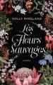 Couverture Les fleurs sauvages Editions Mazarine 2019