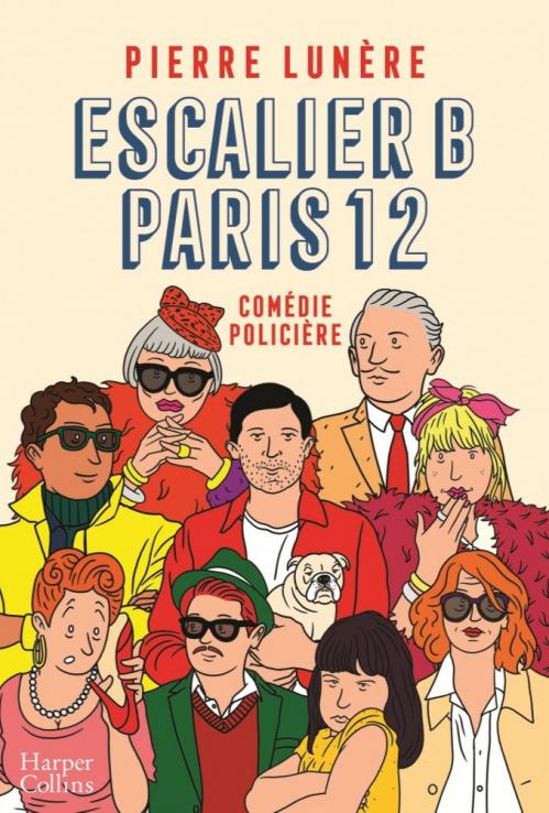 Couverture Escalier B, Paris 12