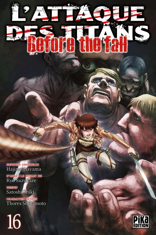Couverture L'attaque des titans : Before the fall, tome 16