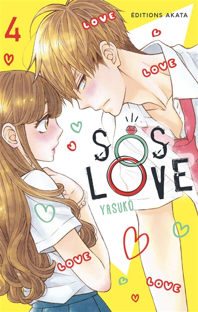 Couverture SOS Love, tome 4
