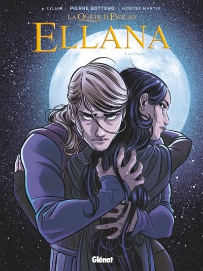 Couverture La quête d'Ewilan : Ellana, tome 4 : L'envol