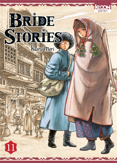 Couverture Bride stories, tome 11