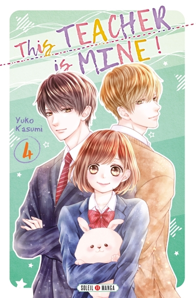 Couverture This teacher is mine !, tome 4