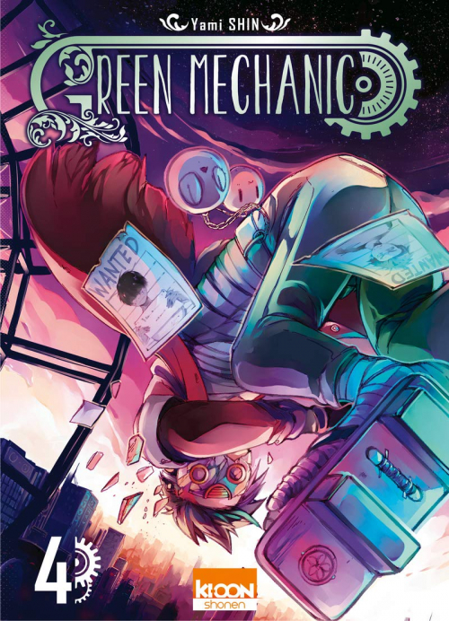Couverture Green Mechanic, tome 4