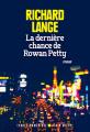 Couverture La Dernière chance de Rowan Petty Editions Albin Michel (Terres d'Amérique) 2019