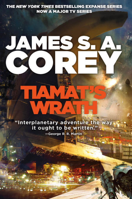 Couverture The expanse, tome 8